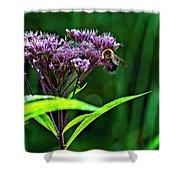 Field Worker Shower Curtain