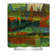Fields Two Shower Curtain