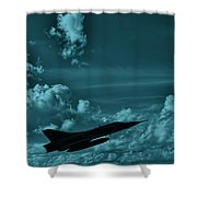 Fighter Pride Shower Curtain