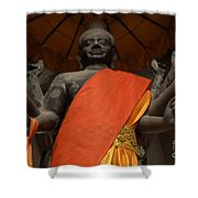 Angkor Wat Cambodia 3 Shower Curtain