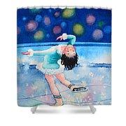 Figure Skater 16 Shower Curtain