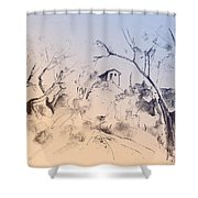 Fikardou 01 Shower Curtain