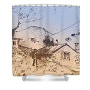 Fikardou 02 Shower Curtain