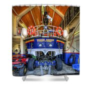 Filey Lifeboat Shower Curtain