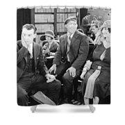Film: All Aboard, 1927 Shower Curtain