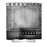 Film Negatives  Shower Curtain