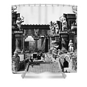 Film Set: Intolerance, 1916 Shower Curtain