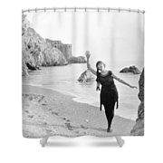 Film Still: Beach Shower Curtain