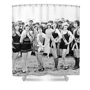 Film Still: Beauty Pageant Shower Curtain