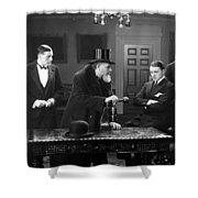 Film Still: Men Group Shower Curtain