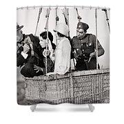 Film Still: Rookies, 1927 Shower Curtain