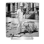 Film Still: Street Cleaner Shower Curtain