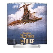 Film: The Thief Of Bagdad: Shower Curtain by Granger