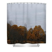 Final Color Shower Curtain