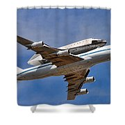 Final Flight Endeavour Shower Curtain