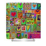 find U'r Love found    v15 Shower Curtain