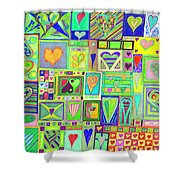find U'r Love found    v18 Shower Curtain
