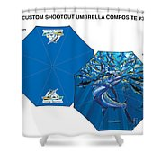 Fine Art Umbrellas Shower Curtain
