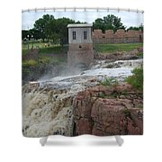 Fine Mist From Furious Falls Shower Curtain
