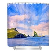 Fiord Shower Curtain