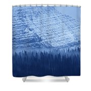 Fir And Spruce Tower Over The Forest Shower Curtain