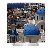 Fira Santorini Shower Curtain