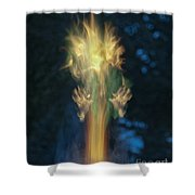 Fire Angel Shower Curtain