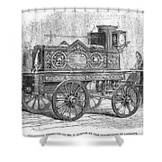 Fire Engine, 1862 Shower Curtain