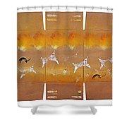 Fire Flight Shower Curtain
