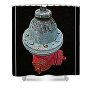 Fire Hydrant IIi Shower Curtain