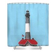 Fire Island Lighthouse Shower Curtain