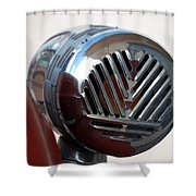 Fire Truck Siren Shower Curtain