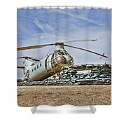 Firebase Charlie Romeo 2 Shower Curtain