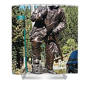 Firefighter Tribute Shower Curtain