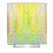 Firefly Macro2 Shower Curtain