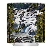 Firehole River IIi Shower Curtain