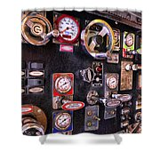 Fireman - Discharge Panel Shower Curtain