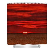 Firesky V3 Shower Curtain