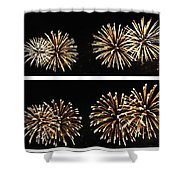 Firework Lifecycle 1 Shower Curtain