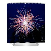 Fireworks 1 Shower Curtain