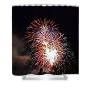 Fireworks 3 Shower Curtain