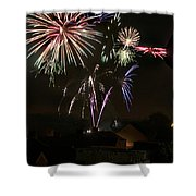 Fireworks 5 Shower Curtain