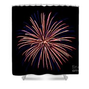 Fireworks 7 Shower Curtain