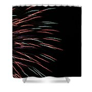 Fireworks Abstract 1 Shower Curtain