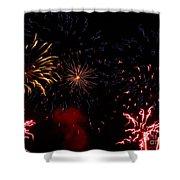 Fireworks At Oshkosh Airventure 2012. 01 Shower Curtain