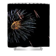 Fireworks Fun 1 Shower Curtain