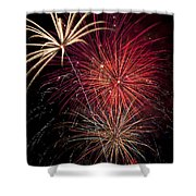 Fireworks Shower Curtain by Garry Gay