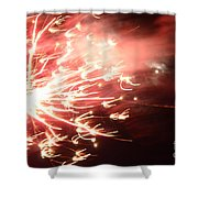 Fireworks In Texas 2 Shower Curtain