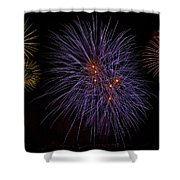 Fireworks Shower Curtain by Joana Kruse