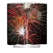Fireworks Light Up The Night Shower Curtain
